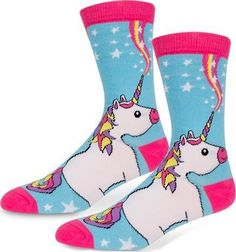 1bde47cb300f2 Accoutrements - Unicorn Socks Crew Socks, Catalog, Happy Unicorn, Womens  Fashion Australia,. Beserk