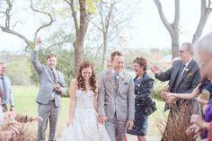 Darling DIY Autumn Wedding in Red, Brown & White| Wedding Blog | Confetti Daydreams