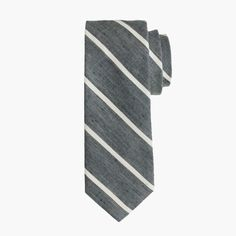 Shop the English Linen-Cotton Tie In Thin Stripe at JCrew.com and see our entire selection of Men's Ties.