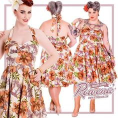 Tiki time!! Hell Bunny Kaila dress instore & online www.retroglam.com with her other purdy spring friends!! #retroglamofficial #retroglam #rowena #Rowenaedmonton #retroglamstyle #retro #pinup #pinupfashion #modernpinup #vintagelove #rockabilly #pinupstyle #altfashion #yeg #edmonton #780 #oldstrathcona #tiki #hellbunny #tropical