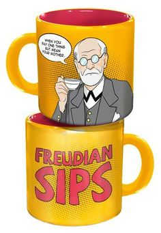 I can't be the only one who loves this Freudian Sips mugs. :)