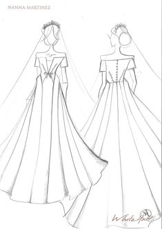 9804827e7 Estilistas desenham vestidos de noiva para Meghan Markle - Constance Zahn