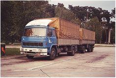 Liaz 100.053 Turbo @  Hängerzug des ungarischen Transportunternehmen Kecskemet.  Fotografiert im Juni 1988 am Rastplatz Hockenheim.