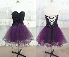 high low purple prom dresses gothic ike | Punk Rock Prom Dresses ...