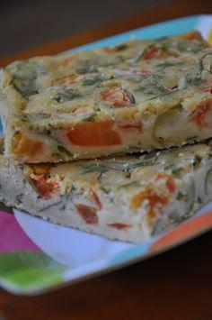 Ser Vegana: Torta de liquidificador vegan (salsinha, tomates e azeitonas)