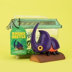 How It Was Made: Rhino Beetle Resin Figure — The Beast Is Back Inc Vinyl Toys, Vinyl Art, Character Concept, Character Design, Rhino Beetle, Demon Drawings, Custom Printed Boxes, Print Box, Designer Toys