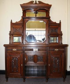 victorian sideboard with mirror antique sideboard with mirror oak oak sears roeb antique 6770