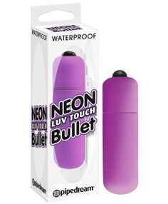 Neon Luv Touch Bullet - get your sex toy bullets from www.adulthotdeals.com