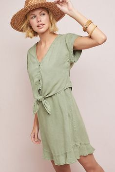 2af2bc36d85a Cloth & Stone Verona Tunic Dress | Anthropologie Boho Outfits, Spring  Outfits, Dress