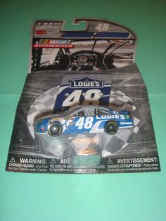 2016 1/64 #48 JIMMIE JOHNSON LOWE S  WAVE 4 W/PIT BOARD NASCAR AUTHENTICS