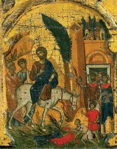 Христов улазак у Јерусалим - Цвети