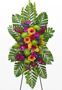Discover recipes, home ideas, style inspiration and other ideas to try. Funeral Floral Arrangements, White Flower Arrangements, Church Flowers, Funeral Flowers, Flower Cart, Flower Boxes, Casket Flowers, Contemporary Flower Arrangements, Funeral Sprays