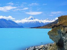 Eastside of Mount Cook, New Zealand  This is such a beautiful country.