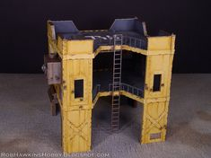 One of the commissions I've been working on is this piece of Necromunda Terrain. The client wanted an open building with a few floors and w...