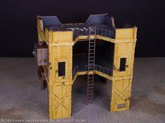 Rob Hawkins Hobby: Necromunda Building