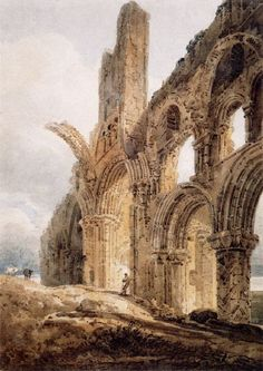 Lindisfarne by Thomas Girtin (1775 - 1802)