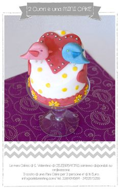 le minicake di san valentino di Celebreating www.celebreating.com