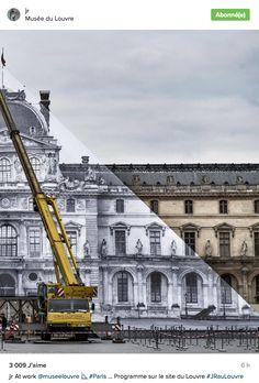 JR s'en est pris à la pyramide du Louvre | The Creators Project