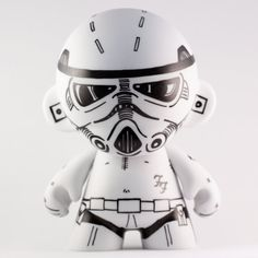 Customised 675 inch Designer Vinyl Toy Storm by OUTandOUTdesign
