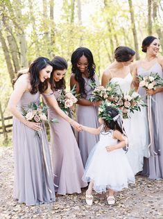 An unforgettable wedding weekend set at Brush Creek Ranch in Wyoming with guests traveling from across the world to celebrate. April Wedding, Wedding Weekend, Summer Wedding, Dream Wedding, Bridesmaid Dresses, Wedding Dresses, Party Dresses, Bridesmaids, Shades Of Purple