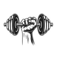 Dumbbell Tattoo, Tatoos Men, Gym Icon, Bodybuilding Logo, Brother Tattoos, Gym Interior, Gym Logo, Fitness Tattoos, Logo Design