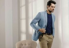 Men's fashion | David Gandy for @marksandspencer Summer 2015