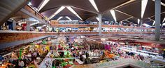 """El Mercado mas Grande de Guadalajara y con mayor Tradicion  """"El Mercado de San Juan De Dios"""" , con su pintoresca arquitectura"""