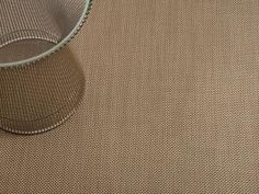 Basketweave Woven Floor Mat in New Gold