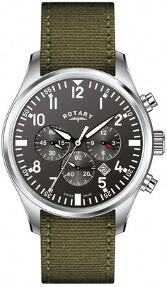 942ce7cee0b Rotary Watch Gents Strap D  MensWatches