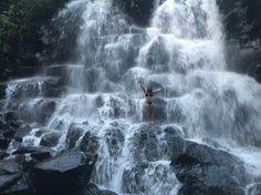 hidden waterfalls newar Ubud