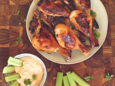 Want to Grill Up Some Chicken Legs? Check Out This Buffalo Ranch Recipe