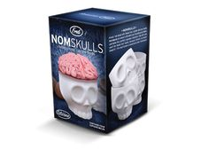 NomSkulls Kooky Creepy Cupcake Molds - Science Gifts - Anatomy Gifts - Gifts for Teachers - Science Education Gifts - Gifts for Doctors - Gifts for Nurses - Anatomical Gifts Skull Cupcakes, Brain Cupcakes, Spirit Halloween, Halloween Party, Halloween Gifts, Halloween Ideas, Halloween Queen, Haunted Halloween, Skull Rock