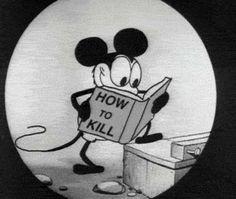 devilish mickey mouse