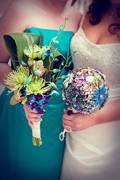 Custom Bridal Brooch Bouquet by MissRiss1498 on Etsy, $250.00