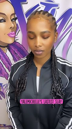 Athletic Hairstyles, Sporty Hairstyles, Black Girl Braids, Braided Hairstyles For Black Women, Braids For Black Hair, Girls Braids, Cornrows Braids For Black Women, Feed In Braids Hairstyles, Braids Hairstyles Pictures