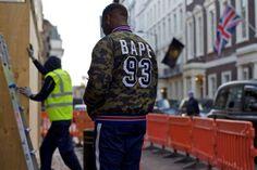 http://chicerman.com  billy-george:  Bape  Photo byAdam Mastroianni  #streetstyleformen