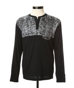 Colour Blocked Henley MARC ECKO