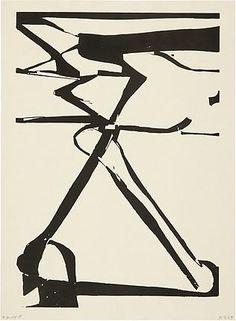Richard Diebenkorn. Double X. 1987 ●彡
