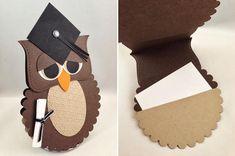 ballagás üdvözlőlap Graduation Cards Handmade, Graduation Crafts, Graduation Theme, Preschool Graduation, Grad Gifts, Owl Crafts, Diy And Crafts, Crafts For Kids, Arts And Crafts
