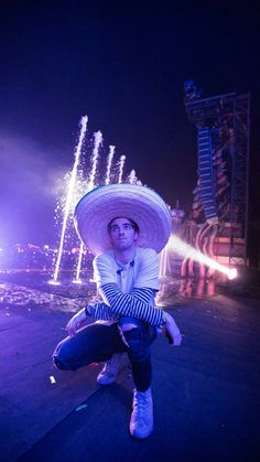 Andrew Taggart wearing a Mexican hat. Haha, cutie pie honey bunch....