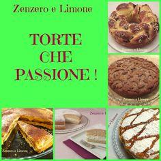 TORTE CHE PASSIONE | raccolta in pdf | Zenzero e Limone