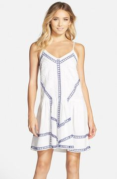 "Adelyn Rae Embroidered Slipdress available at <a class=""pintag searchlink"" data-query=""%23Nordstrom"" data-type=""hashtag"" href=""/search/?q=%23Nordstrom&rs=hashtag"" rel=""nofollow"" title=""#Nordstrom search Pinterest"">#Nordstrom</a>"