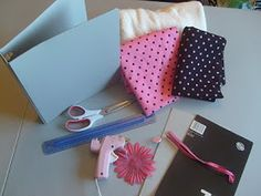 Crafty Things and Such: Fabric Covered Binder Tutorial