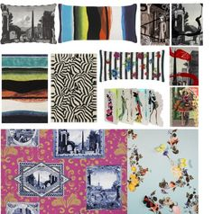 Christian Lacroix wallpaper and cushions