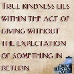 True kindness