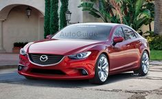 2014 Mazda6 Rendered into Reality. For more, click http://www.autoguide.com/auto-news/2012/07/2014-mazda6-rendered-into-reality.html