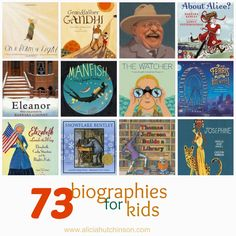 Call me what nerdy name that you will, I think biographies are fascinating...especially biographies written for kids. I just feel like they're so informative and honest without being graphic and some of the illustrations are so amazing. People's stories fascinate me. I love listening to my dad's