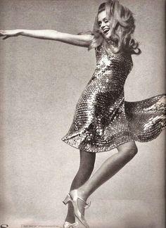 Lauren Hutton, 1966.