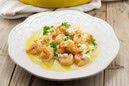 shrimp saganaki - Photo By Jane Kleiman