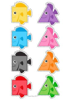 cheznounoucricri - Page 53 Preschool Learning Activities, Preschool Worksheets, Toddler Activities, Preschool Activities, Kids Learning, Learning Shapes, Teaching Colors, Toddler Crafts, Art For Kids
